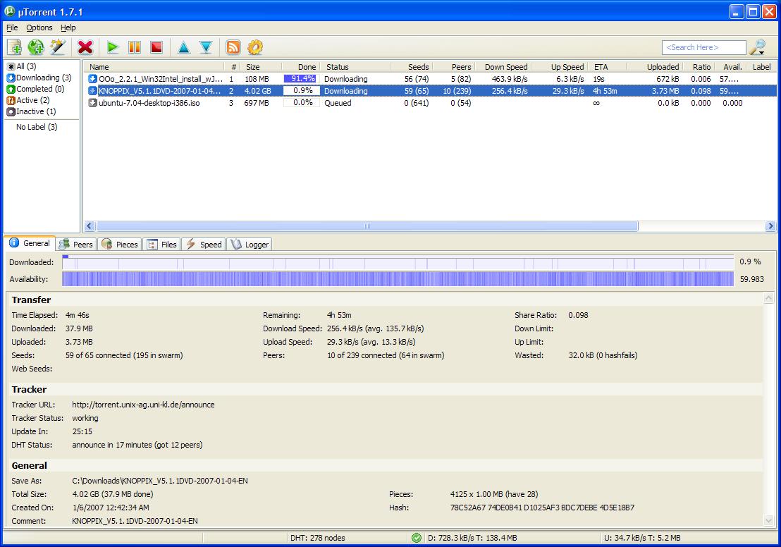 µTorrent Backgrounds on Wallpapers Vista