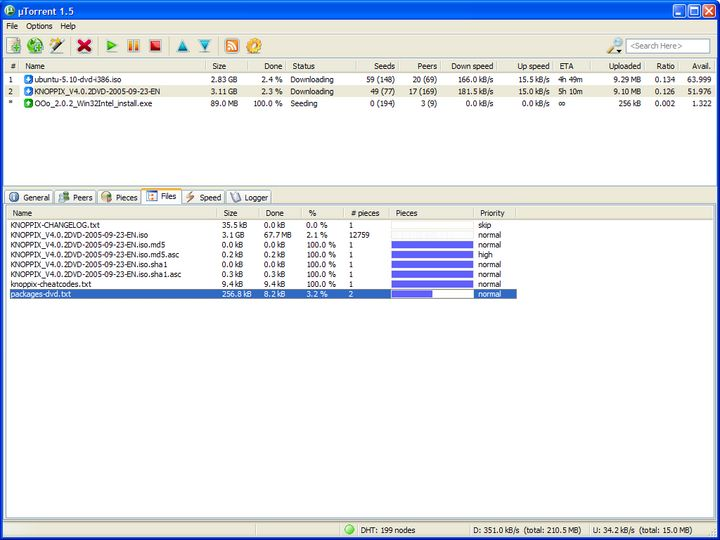 Images of µTorrent | 720x540