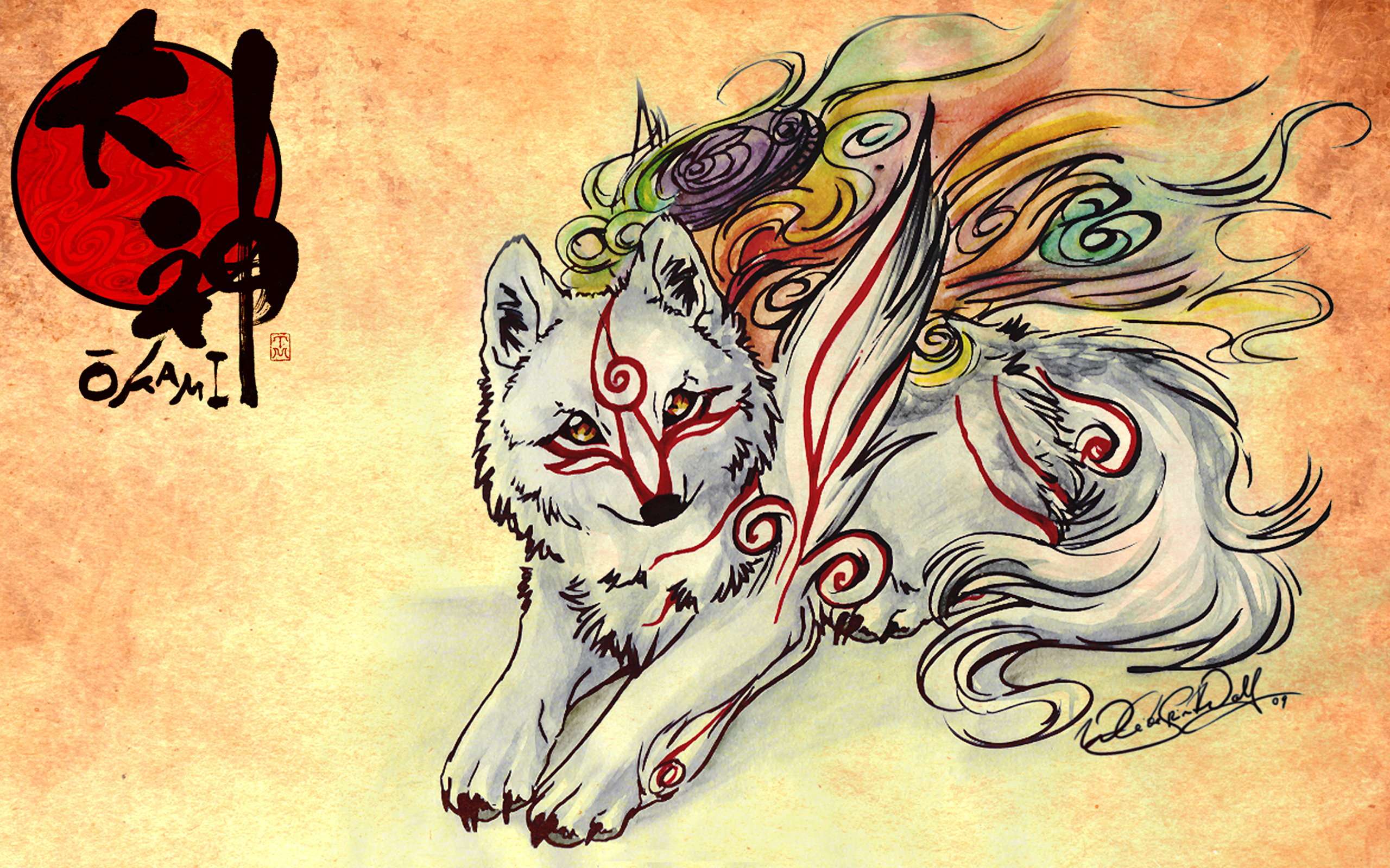 HD Quality Wallpaper | Collection: Video Game, 2560x1600 Ōkami