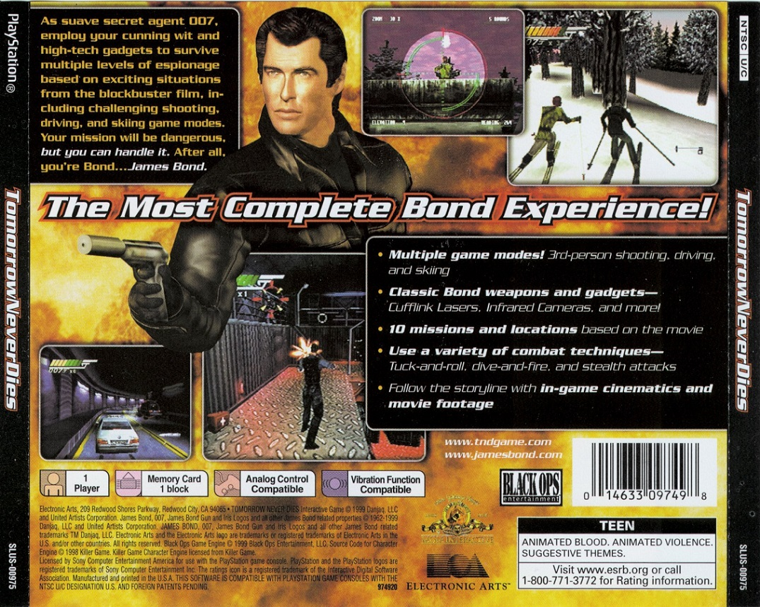 Amazing 007: Tomorrow Never Dies Pictures & Backgrounds