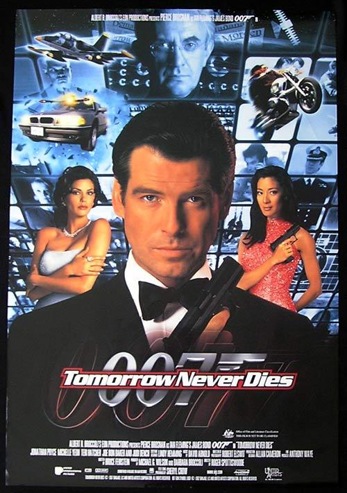 Nice Images Collection: 007: Tomorrow Never Dies Desktop Wallpapers