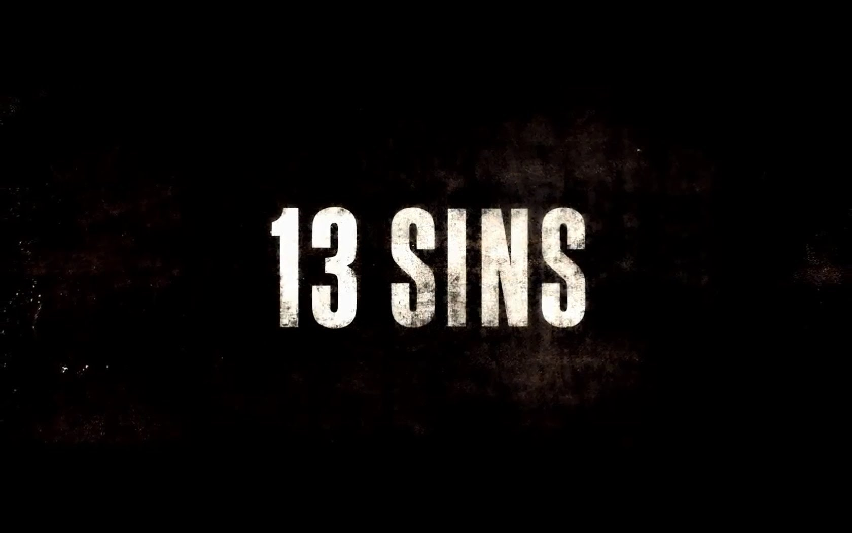 Nice wallpapers 13 Sins 1680x1050px
