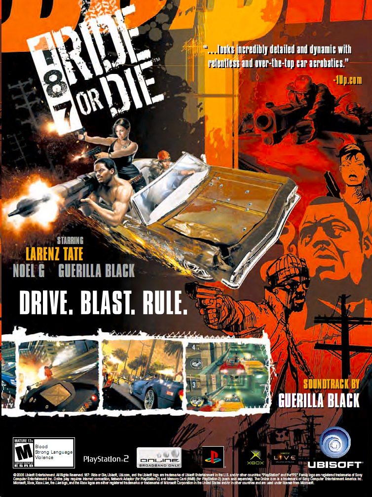 187 Ride Or Die Pics, Video Game Collection