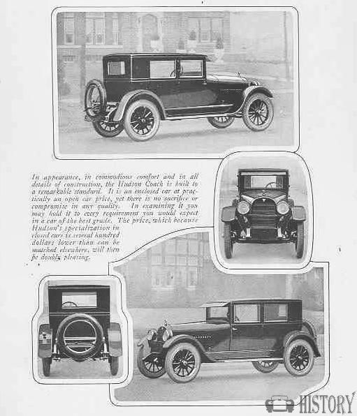 Amazing 1924 Hudson Super Six Coach Pictures & Backgrounds