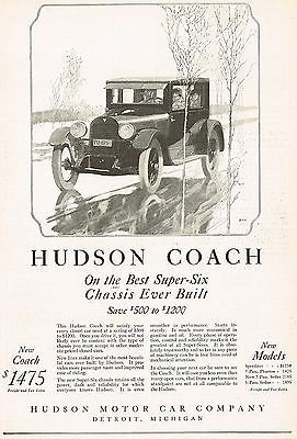 1924 Hudson Super Six Coach High Quality Background on Wallpapers Vista