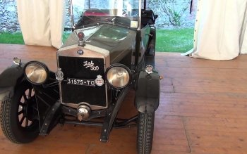 Nice Images Collection: 1925 Fiat 509a Desktop Wallpapers