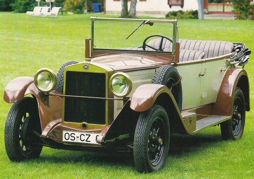 Images of 1925 Fiat 509a | 500x353