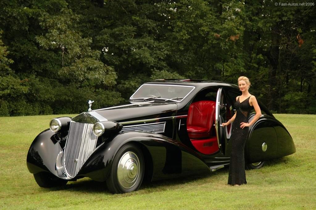 HD Quality Wallpaper | Collection: Vehicles, 1024x681 1925 Rolls-royce Phantom