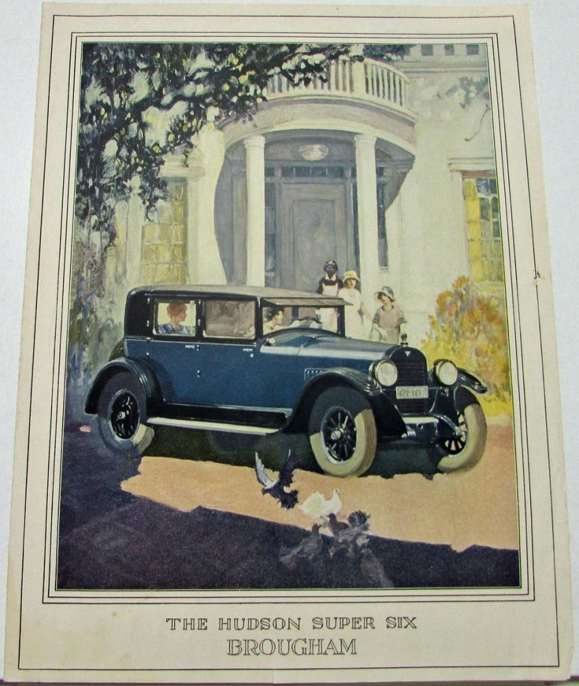 Images of 1926 Hudson Super Six Brougham   844x1000