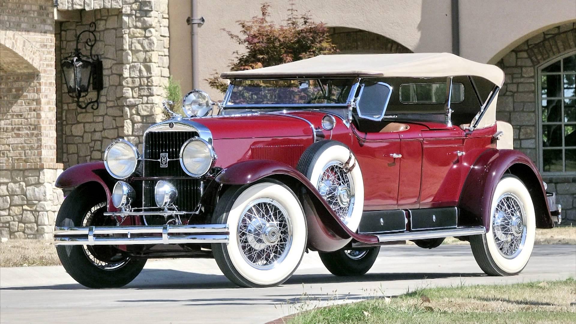 1929 Cadillac V-8 Dual Cowl Phaeton Pics, Vehicles Collection
