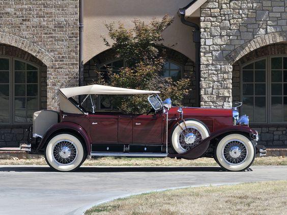 HQ 1929 Cadillac V-8 Dual Cowl Phaeton Wallpapers | File 60.82Kb