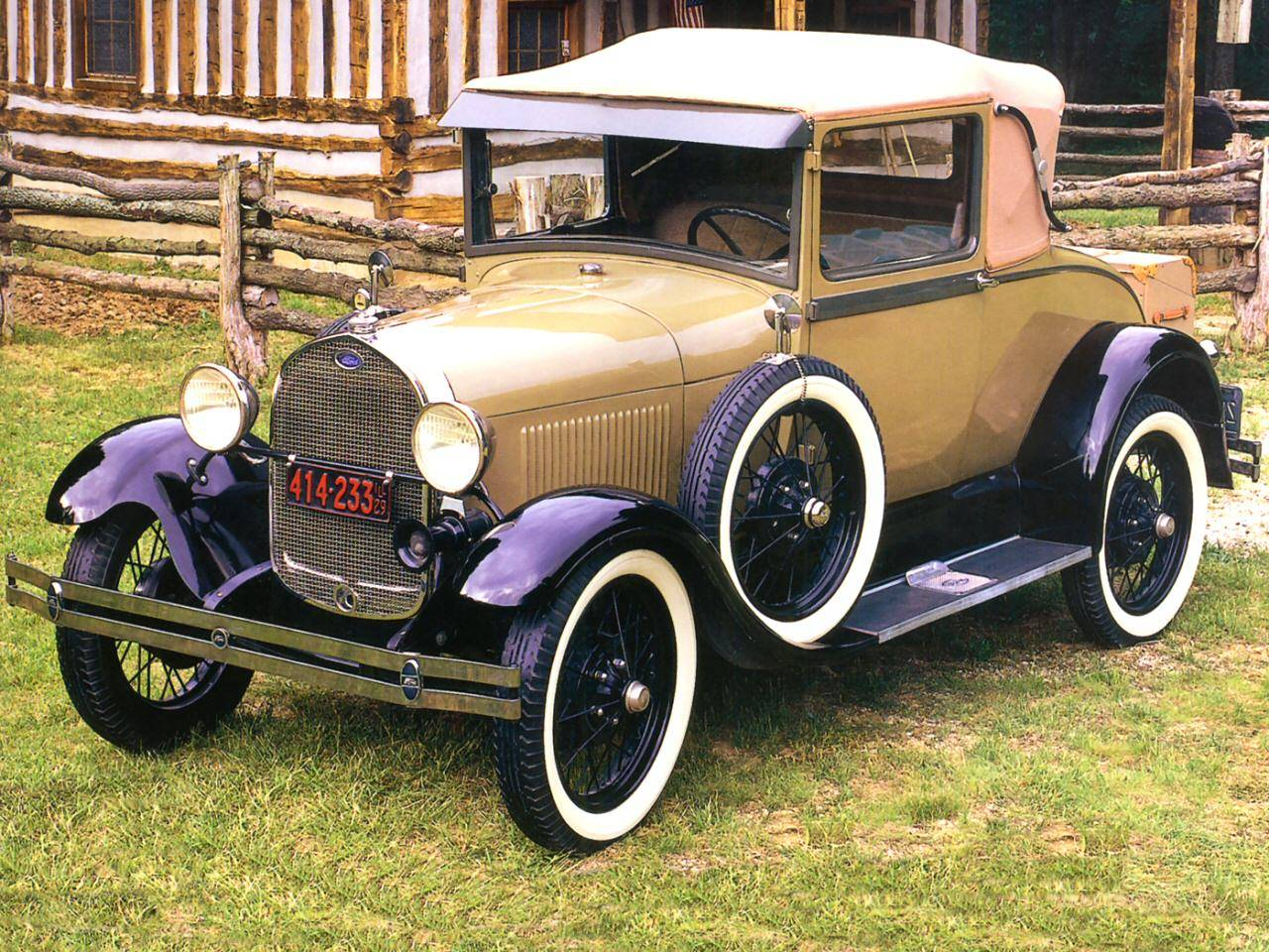 HD Quality Wallpaper   Collection: Vehicles, 1280x960 1929 Ford