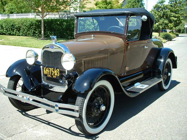 HQ 1929 Ford Model A Wallpapers   File 94.58Kb