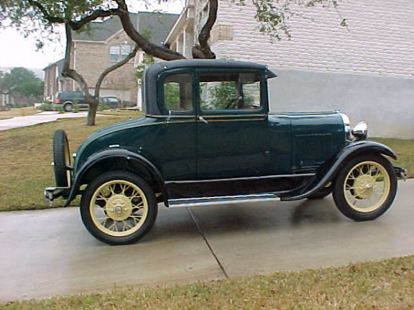 Nice wallpapers 1929 Ford Model A 600x450px