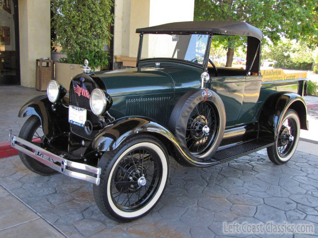 HD Quality Wallpaper   Collection: Vehicles, 640x480 1929 Ford Model A