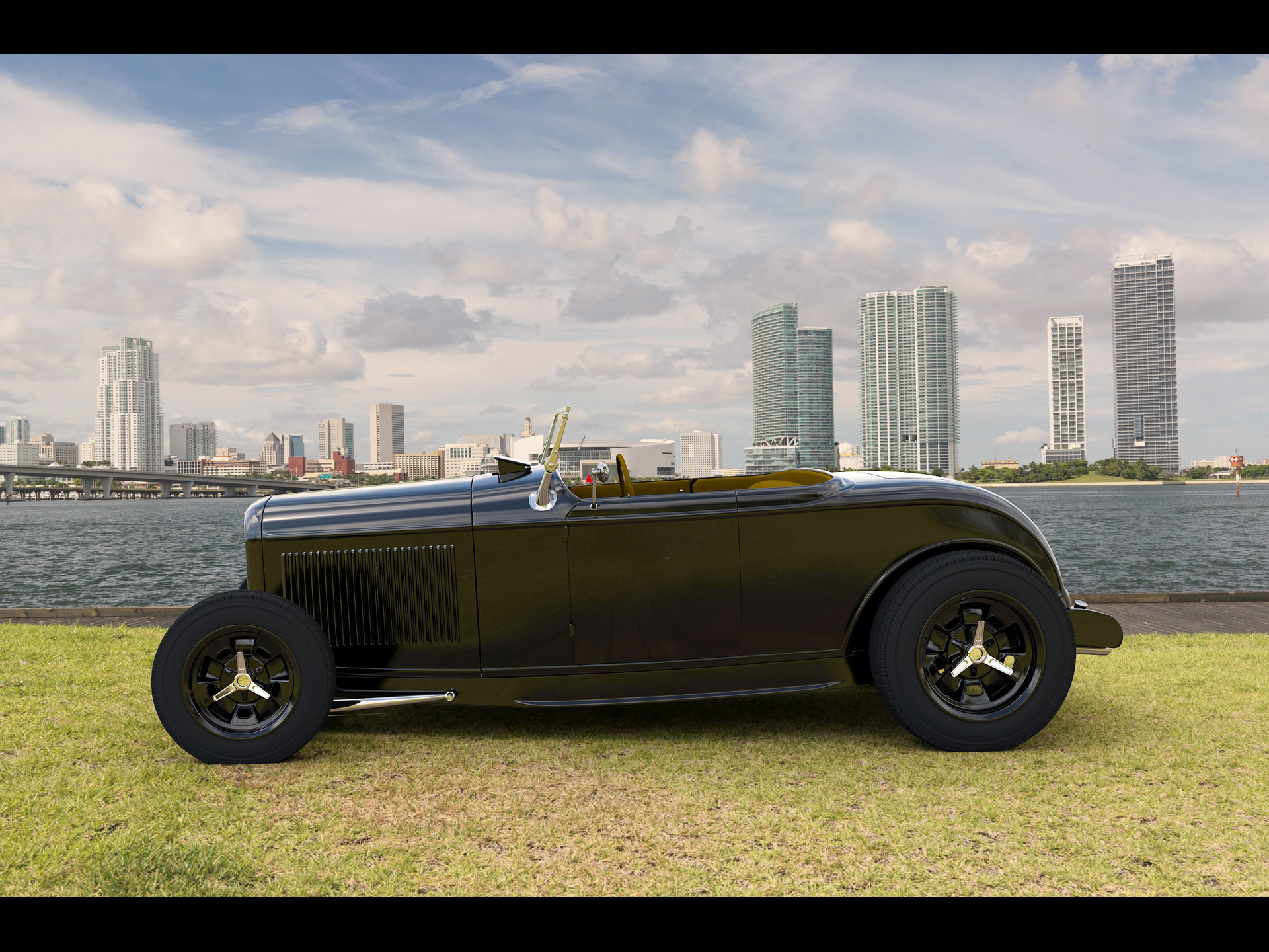 Nice wallpapers 1929 Ford Roadster 1920x1440px