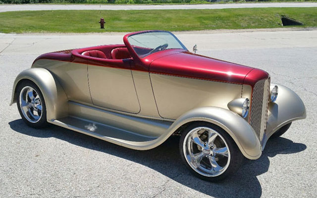 HD Quality Wallpaper | Collection: Vehicles, 640x400 1929 Ford Roadster