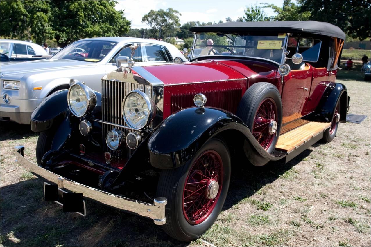 1929 Rolls-royce Phantom Ii Pics, Vehicles Collection