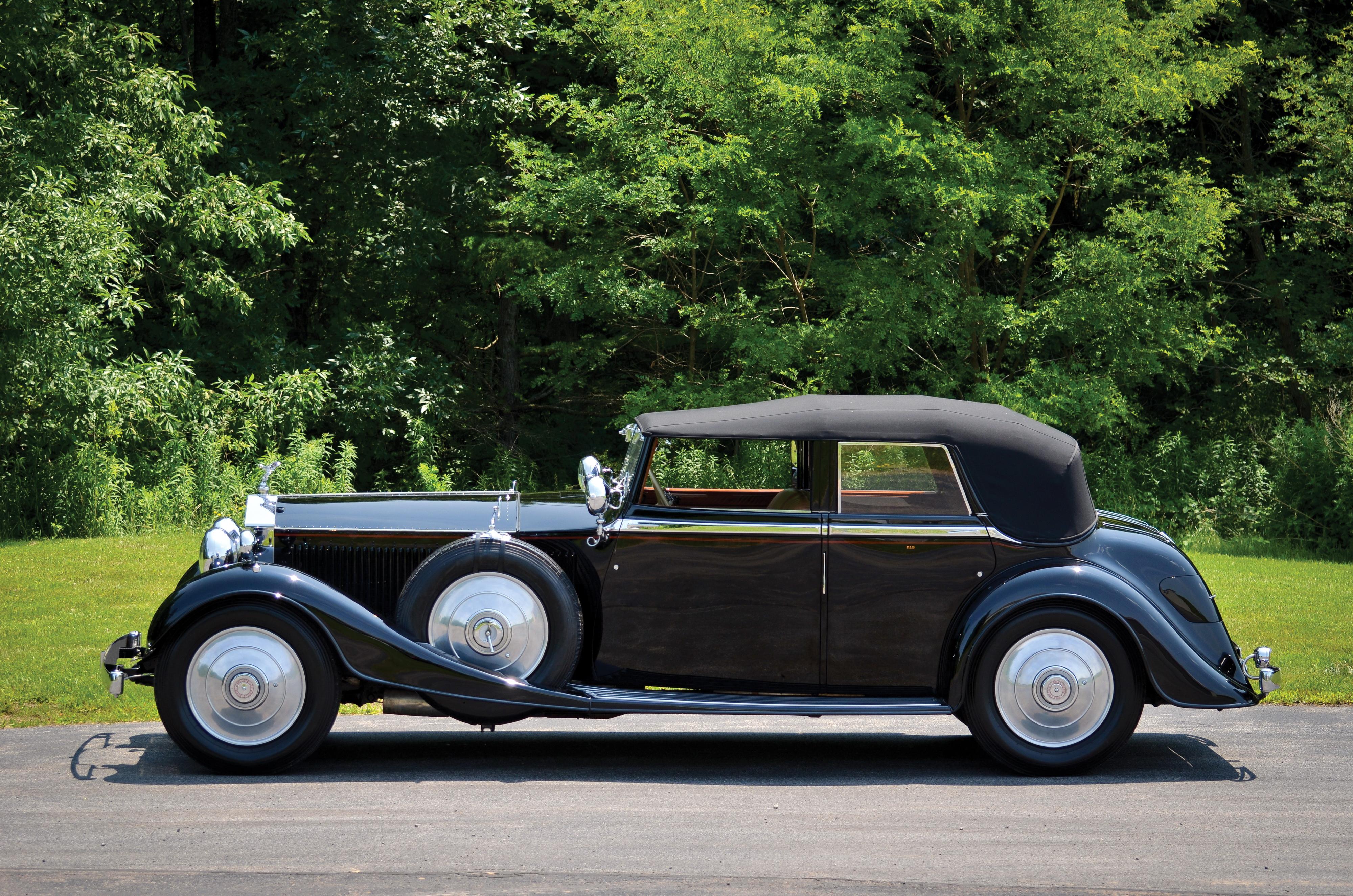 Nice Images Collection: 1929 Rolls-royce Phantom Ii Desktop Wallpapers
