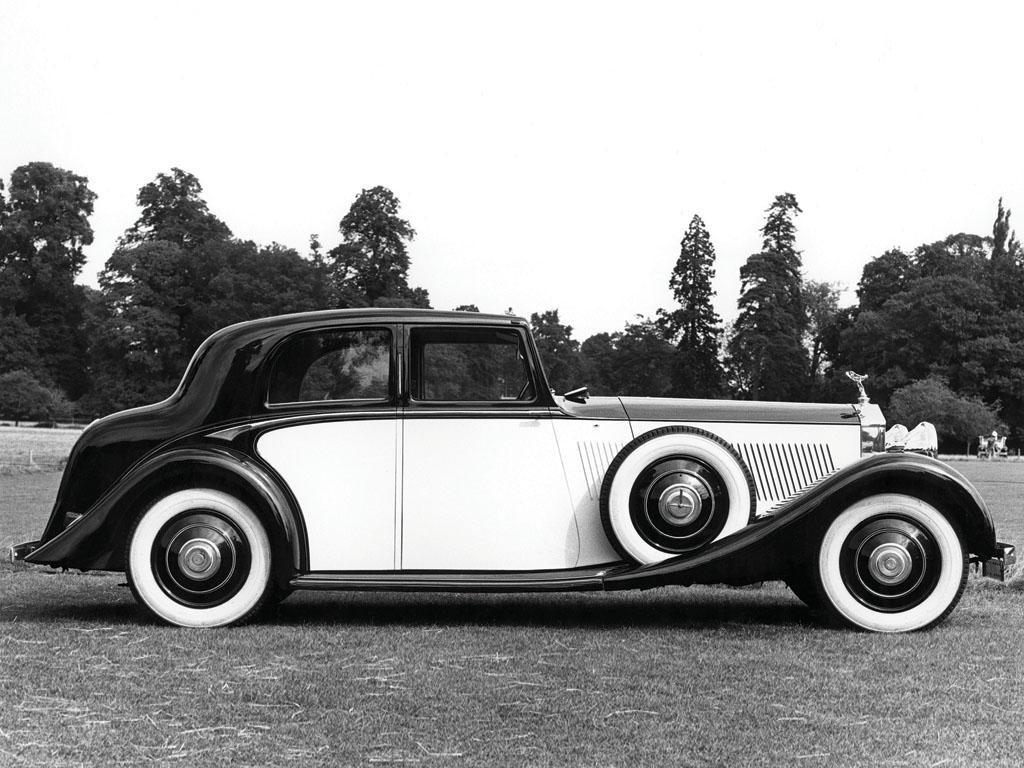 HD Quality Wallpaper | Collection: Vehicles, 1024x768 1929 Rolls-royce Phantom Ii