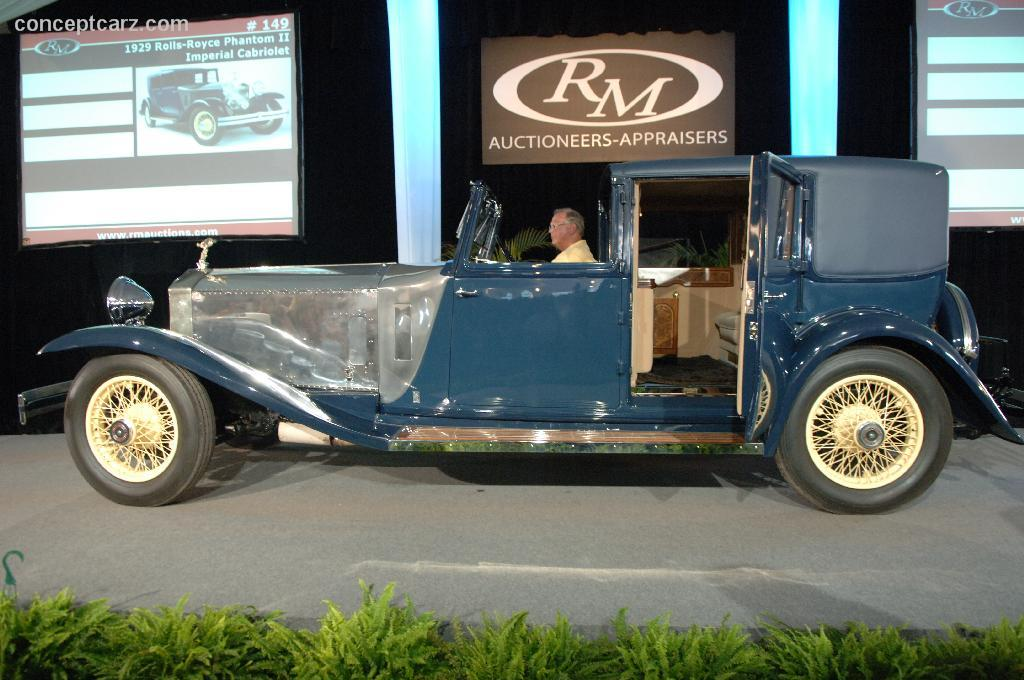 HD Quality Wallpaper | Collection: Vehicles, 1024x680 1929 Rolls-royce Phantom Ii