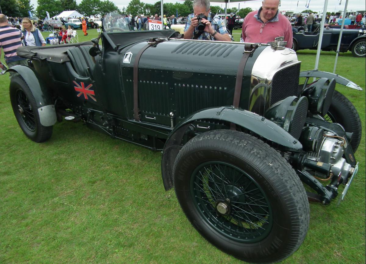 1930 Bentley 4 ½ Litre Blower #4