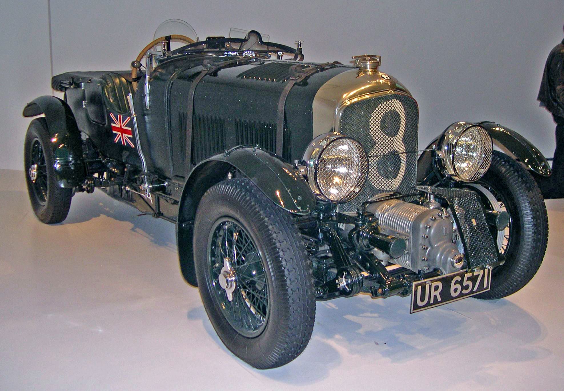HD Quality Wallpaper | Collection: Vehicles, 1975x1368 1930 Bentley 4 ½ Litre Blower