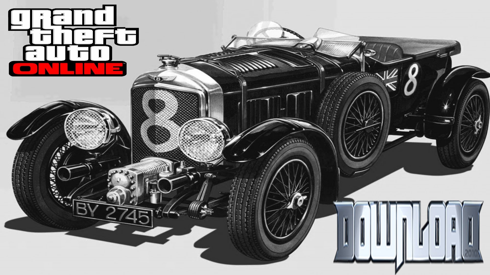 HD Quality Wallpaper | Collection: Vehicles, 1920x1080 1930 Bentley 4 ½ Litre Blower