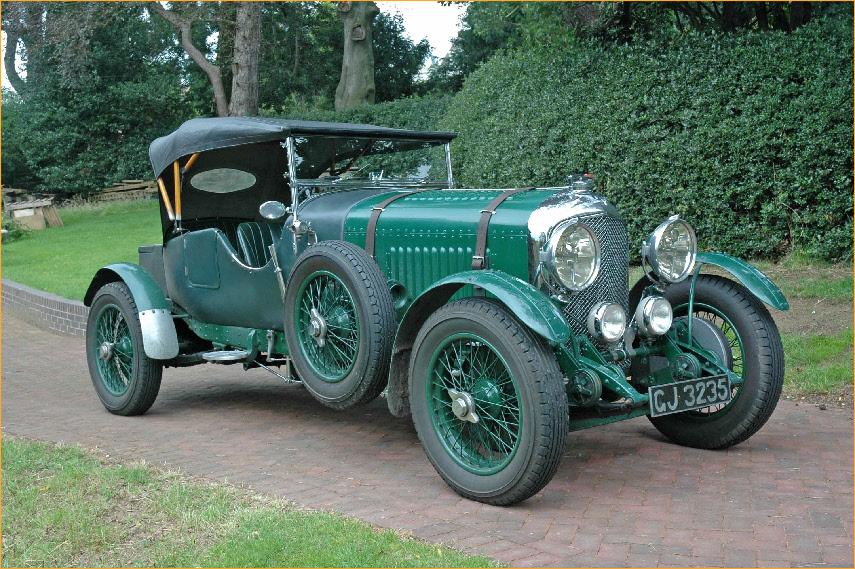 1930 Bentley 4 ½ Litre Blower Backgrounds, Compatible - PC, Mobile, Gadgets| 855x569 px