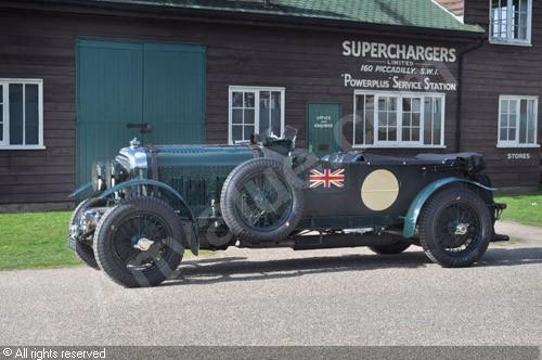 1930 Bentley 4 ½ Litre Blower #26