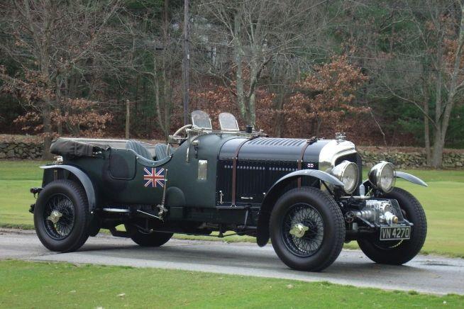 High Resolution Wallpaper | 1930 Bentley 4 ½ Litre Blower 654x436 px