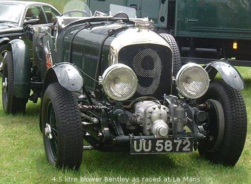 1930 Bentley 4 ½ Litre Blower #17