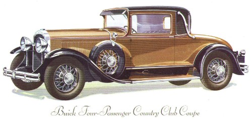 HD Quality Wallpaper | Collection: Vehicles, 500x236 1930 Buick Roadster