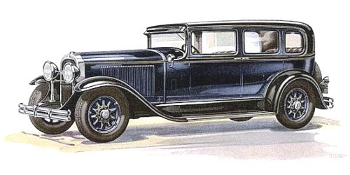 HD Quality Wallpaper | Collection: Vehicles, 500x250 1930 Buick Roadster