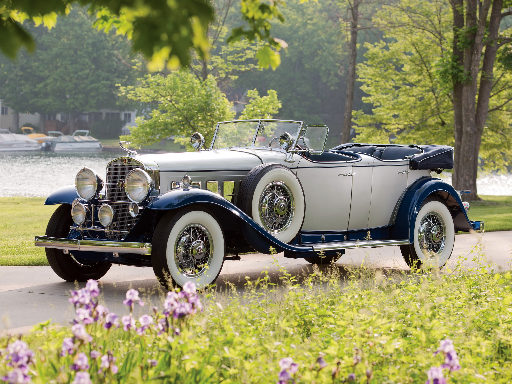 1930 Cadillac Model 452 V16 High Quality Background on Wallpapers Vista