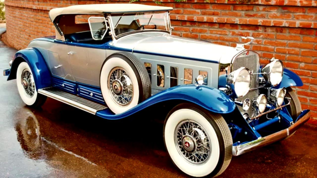 HD Quality Wallpaper | Collection: Vehicles, 1280x720 1930 Cadillac V16 Roadster