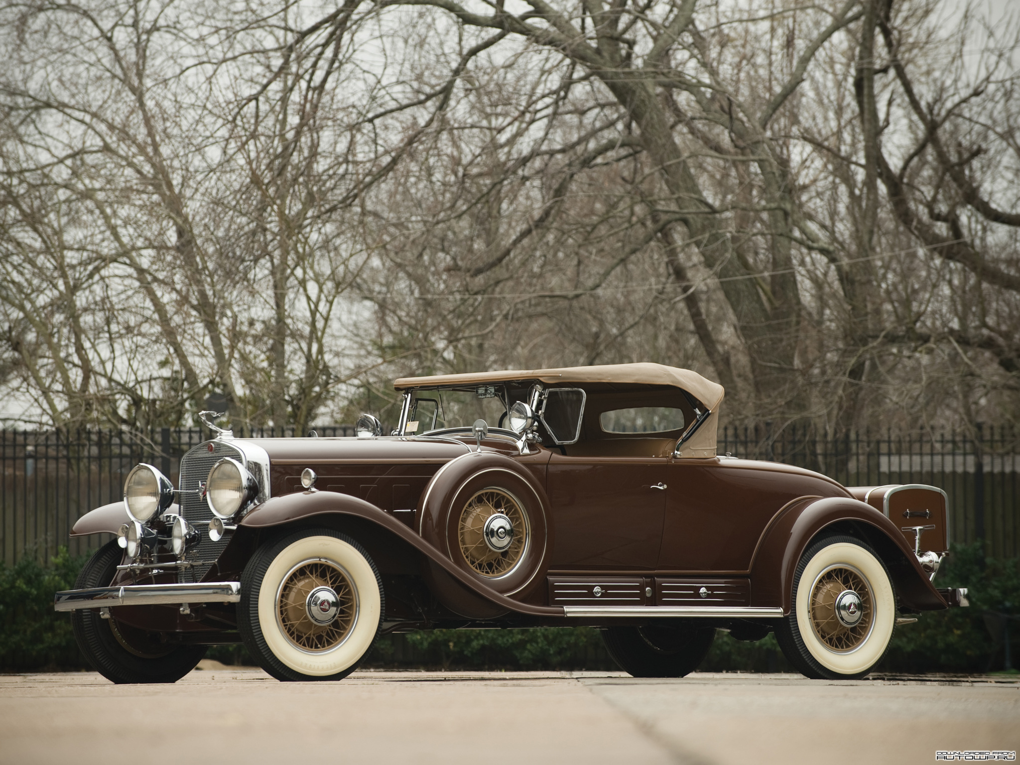 1930 Cadillac Model 452 V16 Backgrounds, Compatible - PC, Mobile, Gadgets| 2048x1536 px