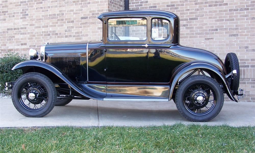 Nice Images Collection: 1930 Ford Coupe Desktop Wallpapers