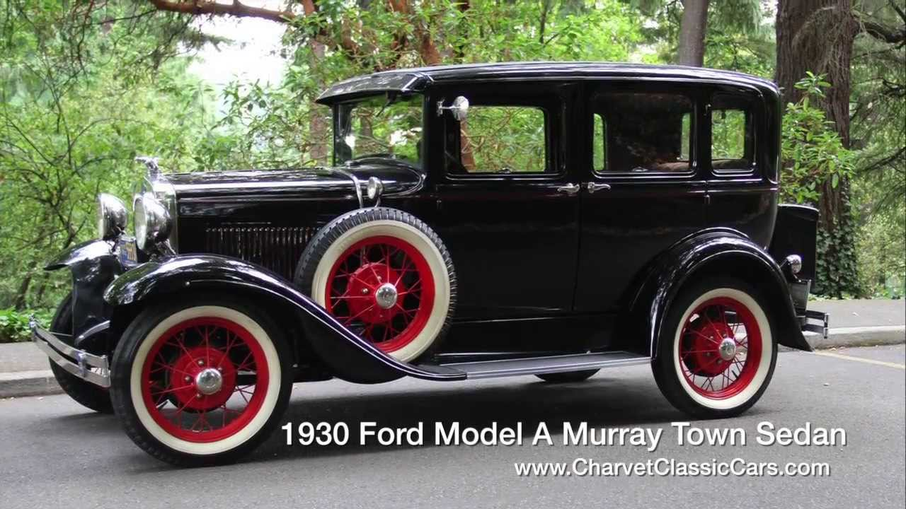 Nice Images Collection: 1930 Ford Sedan Desktop Wallpapers