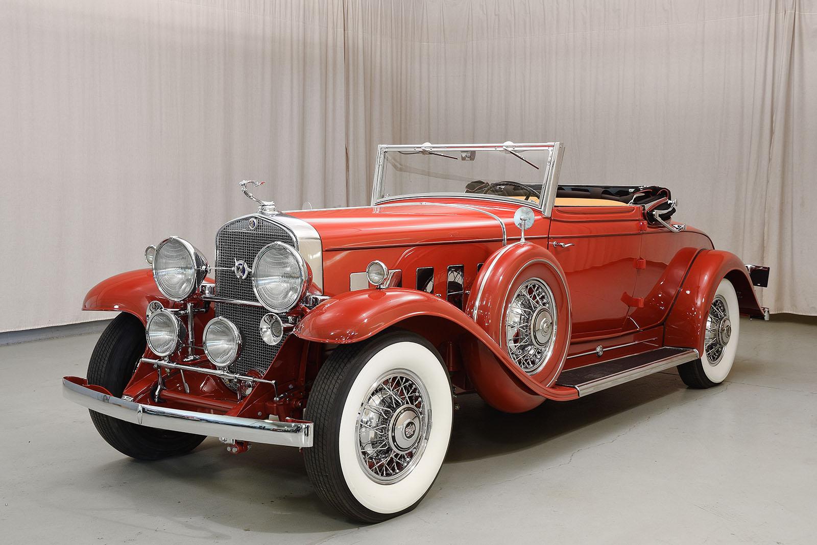 High Resolution Wallpaper | 1931 Cadillac V12 1600x1068 px