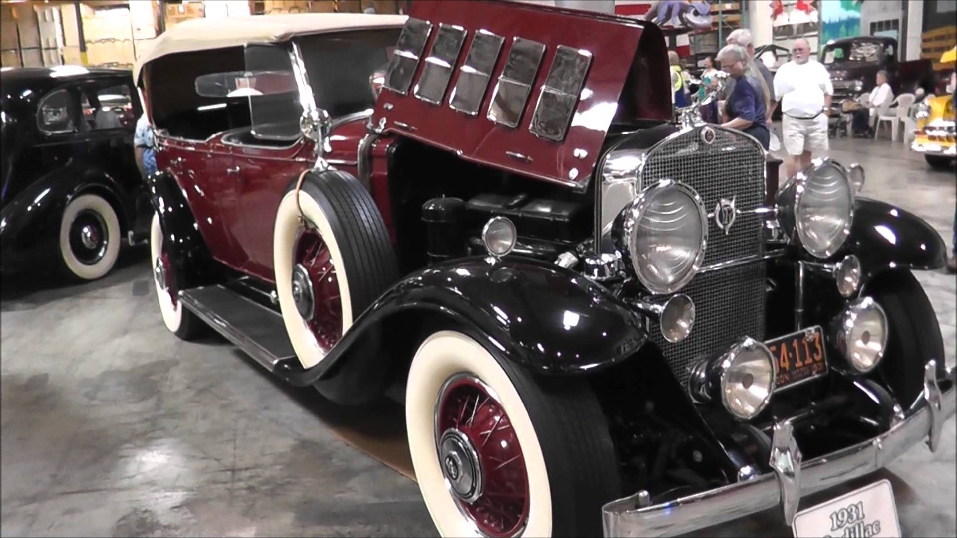 High Resolution Wallpaper | 1931 Cadillac V12 1920x1080 px