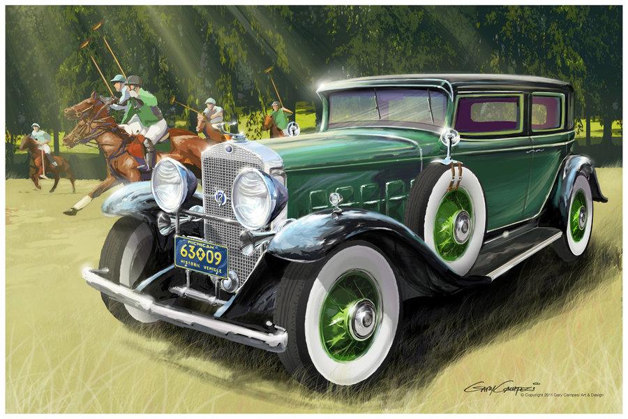 HQ 1931 Cadillac V12 Wallpapers | File 166.71Kb