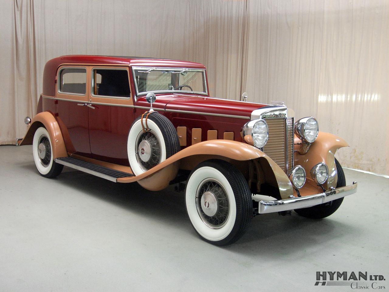 High Resolution Wallpaper   1931 Marmon Sixteen 4 Door Convertible Sedan By LeBaron 1280x960 px