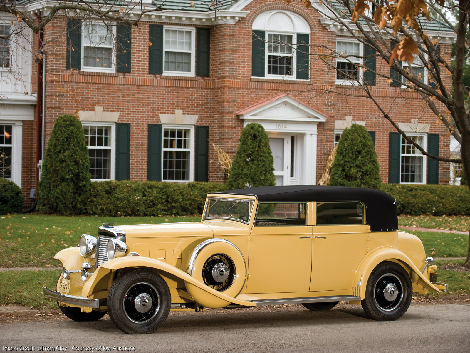 Nice Images Collection: 1931 Marmon Sixteen 4 Door Convertible Sedan By LeBaron Desktop Wallpapers