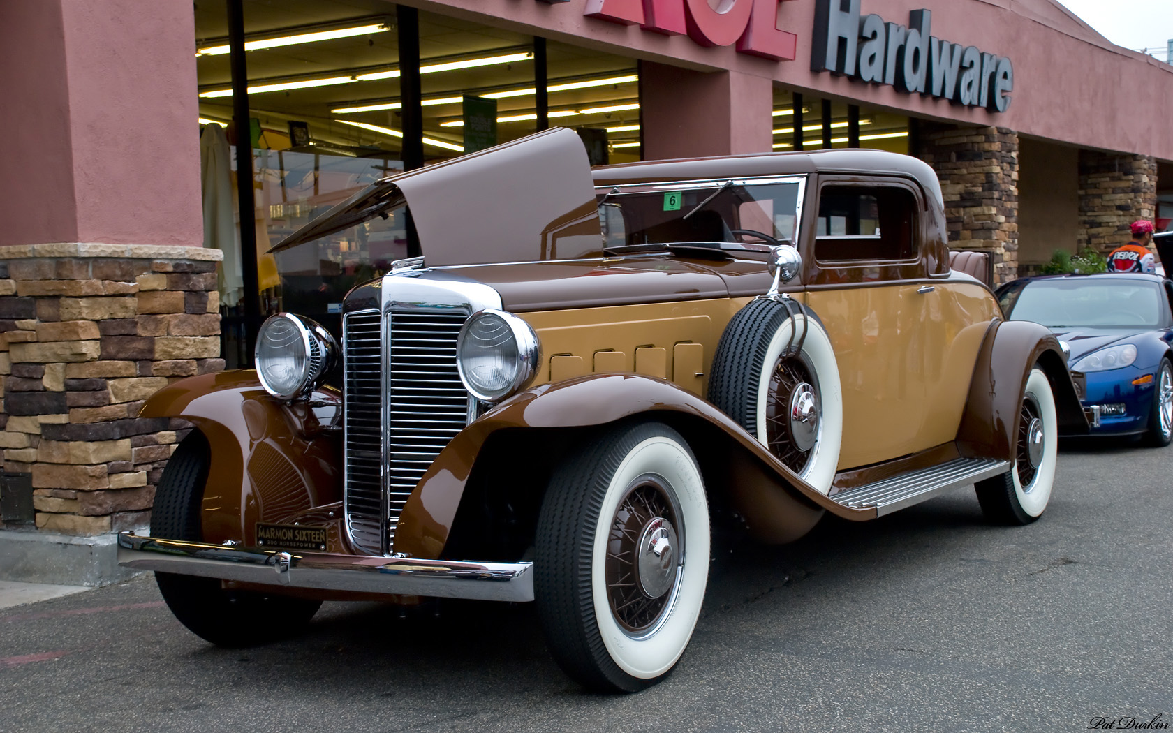 1931 Marmon Sixteen 4 Door Convertible Sedan By LeBaron Backgrounds, Compatible - PC, Mobile, Gadgets  1680x1050 px