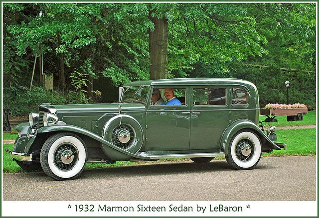1931 Marmon Sixteen 4 Door Convertible Sedan By LeBaron Pics, Vehicles Collection