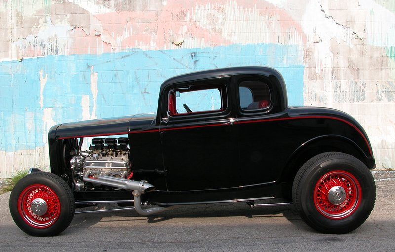 High Resolution Wallpaper | 1932 Ford Five Window Coupe 800x510 px