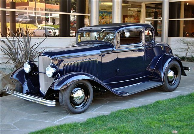 HD Quality Wallpaper | Collection: Vehicles, 640x445 1932 Ford Five Window Coupe