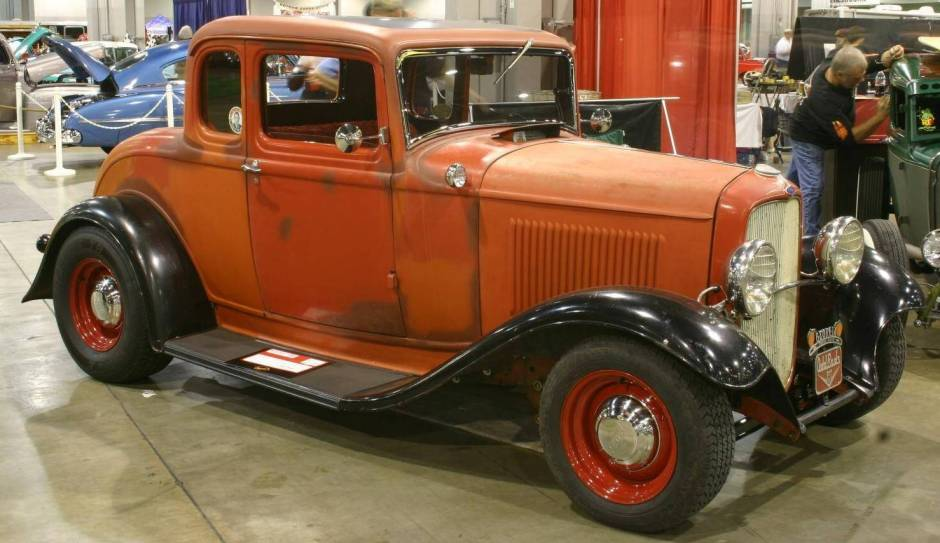 HQ 1932 Ford Five Window Coupe Wallpapers | File 70.68Kb
