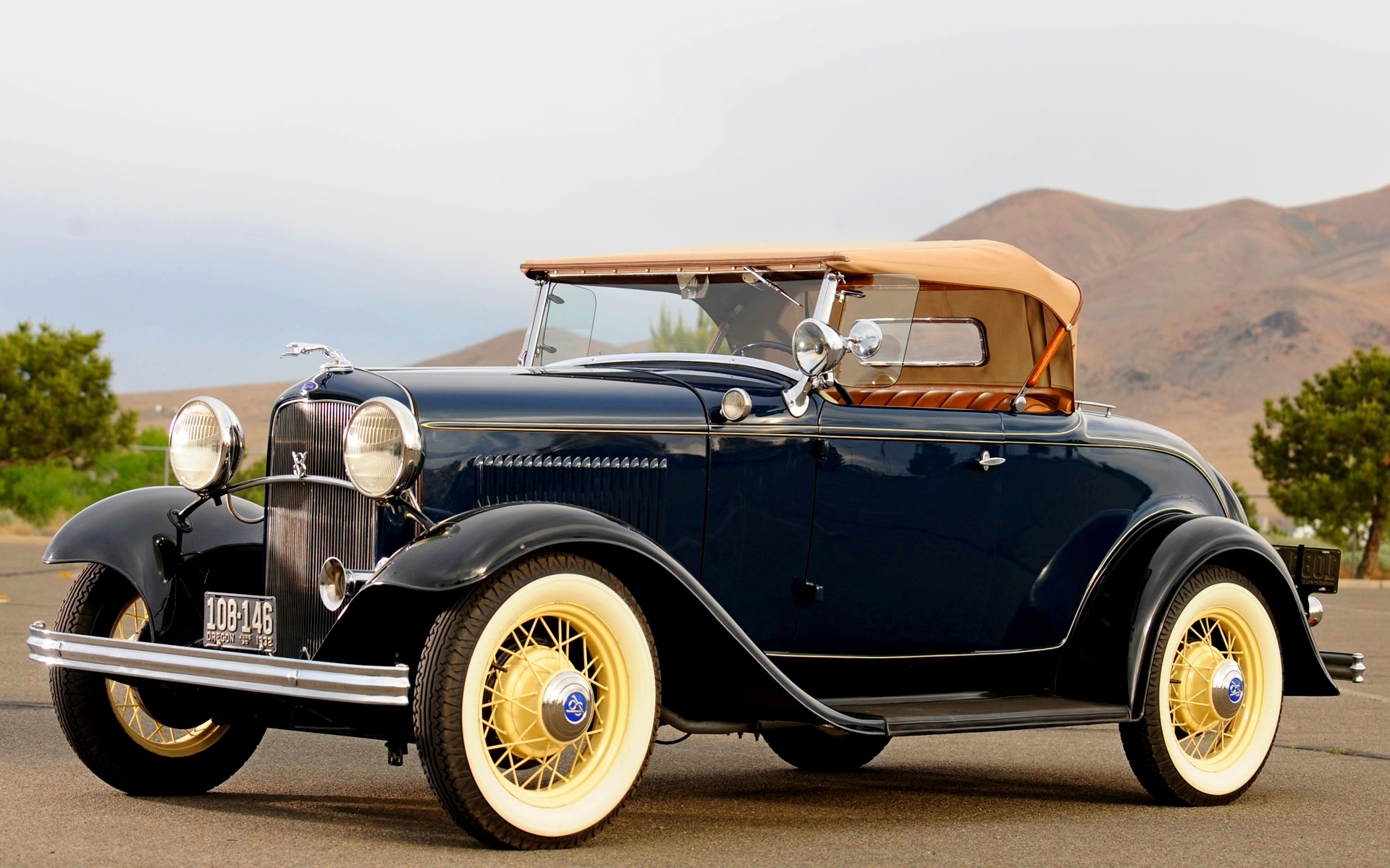HQ 1932 Ford Roadster Wallpapers | File 498.84Kb